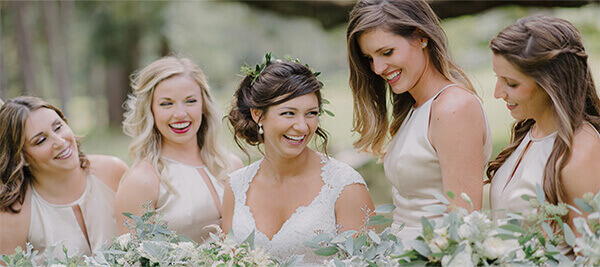 Brides Maids for a Wedding Event.